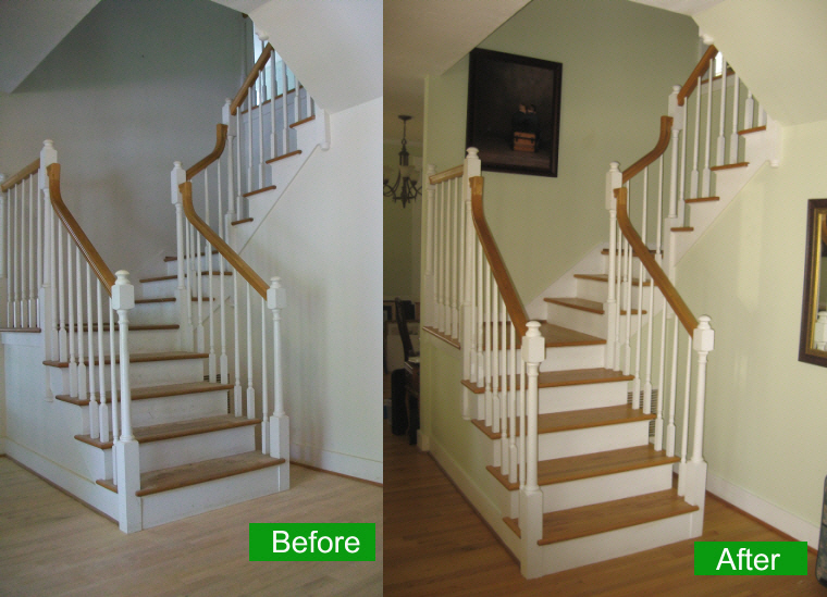 Sarasota Staircase Transformed To A Centerpiece